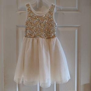 Children's Place sequin & tulle dress 👗